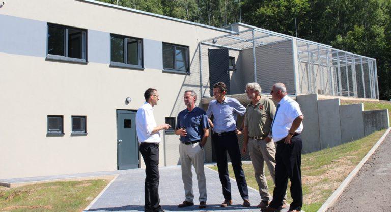 Einweihung der Quarantäne- und Exotenauffangstation im Neunkircher Zoo