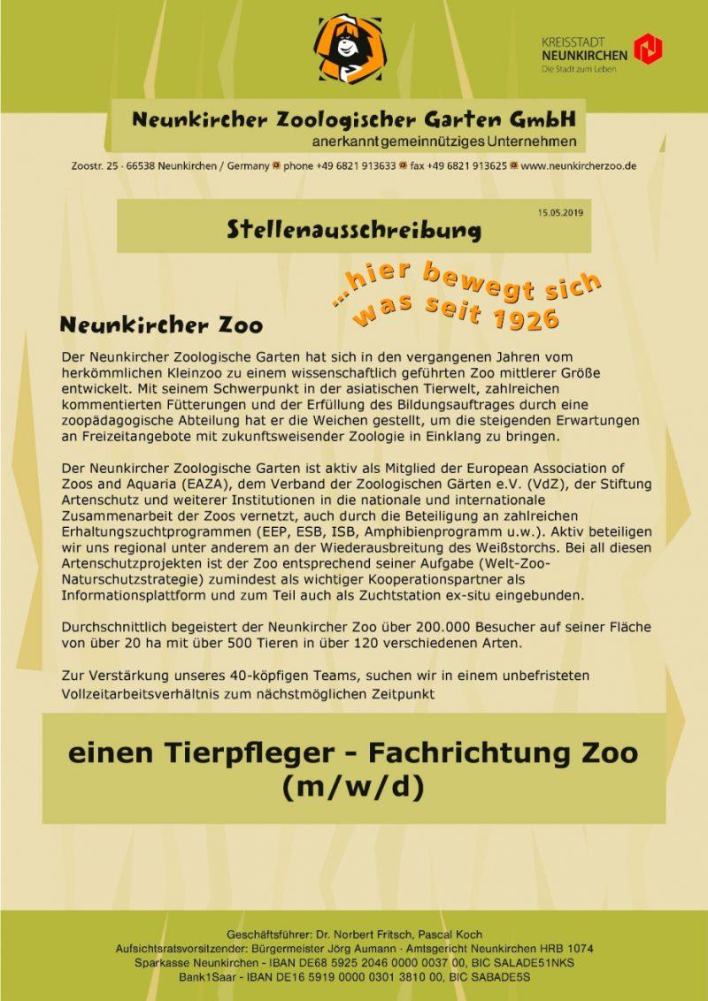 Neunkircher-Zoo-Stellenausschreibung-Zootierpfleger-für-unbefristetes-Vollzeitarbeitsverhältnis-gesucht-1